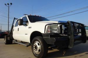 2007 Ford F-350 CREW CAB FLAT BED DUALLY