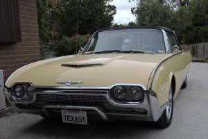 1961 Ford Thunderbird convertable