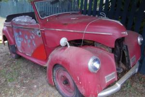 1948 Hillman Minx Convertible Hotrod Ratrod Rootes Group Mopar