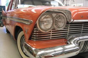 1957 PLYMOUTH BELVEDERE   25K MILES  ORIGINAL  SURVIVOR CAR