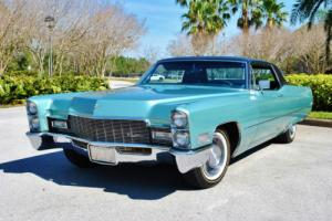 1968 Cadillac DeVille 2-Owner 30,640 Original Miles Simply Gorgeous!