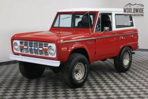 1972 Ford Bronco SPORT RESTORED UNCUT 4X4 302 V8 Photo