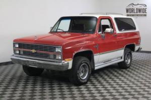 1984 Chevrolet Blazer BANKS TURBO DIESEL! 4x4!