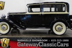 1932 Hupmobile Sedan --