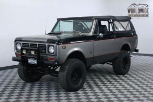 1976 International Harvester Scout 2 OWNER. 64K. V8. RESTORED!