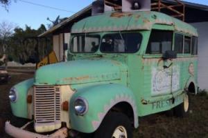 1941 Other Makes Short School Bus / Big Block 454 Chevrolet Engine Photo