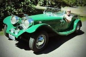 1971 Replica/Kit Makes 1937 Jaguar SS100 Photo