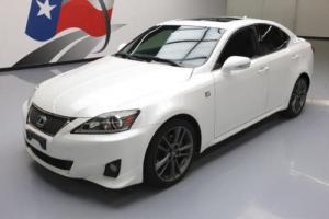 2012 Lexus IS F-SPORT SUNROOF NAV REAR CAM