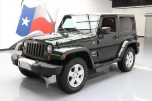 2011 Jeep Wrangler SAHARA 4X4 6-SPD HARD TOP NAV