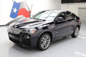 2016 BMW Other X4 XDRIVE28I AWD M SPORT LINE SUNROOF