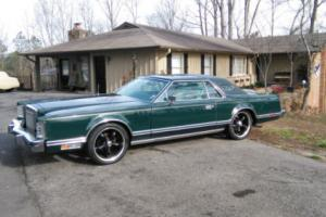 1978 Lincoln Mark Series DARK JADE COLLECTORS EDITION