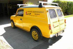 Mini 1976 Panel Van Reg 11/17 good condition, no rust, drive away.