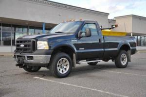 2006 Ford F-350 XL 4X4 Powerstroke R Cab L Bed 8' FISHER PLOW 81K