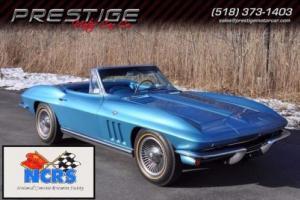 1965 Chevrolet Corvette Convertible L79 Factory AC