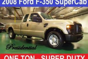 2008 Ford F-350 XL SuperCab 2WD