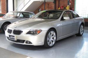 2005 BMW 6-Series 645Ci 2dr Cpe