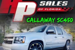2013 Chevrolet Avalanche BLACK DIAMOND CALLAWAY SC450 SUPERCHARGED!!!!!