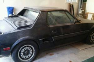 1987 Fiat X-1/9 Bertone