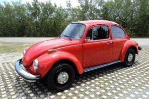 1974 Volkswagen Beetle-New Super Beetle Fully restored Like new in and out Photo