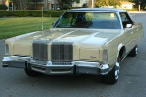1977 Chrysler New Yorker BROUGHAM - TWO OWNER - 27K MILES