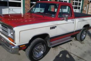 1986 Dodge Other Pickups W 100