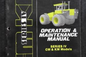 GENUINE STEIGER PANTHER CM KM 225 250 280 325 360 TRACTOR OPERATORS MANUAL NICE