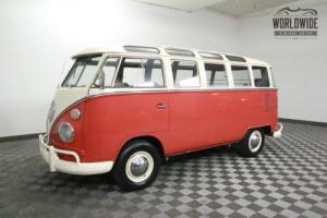 1963 Volkswagen MICROBUS WALK THOUGH 23 WINDOW! RESTORED TO FACTORY SPECS!