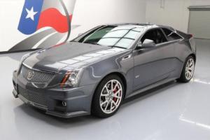 2011 Cadillac CTS V COUPE S/C AUTO RECARO NAV