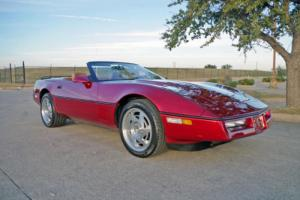 1990 Chevrolet Corvette Convertible Photo