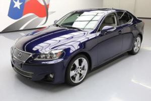 2011 Lexus IS PREM VENT LEATHER SUNROOF NAV