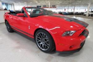 2012 Ford Mustang Shelby GT500 5.4L with Supercharger 6-spd Manual