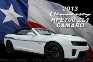 2013 Chevrolet Camaro Hennessey HPE700 ZL1 Photo