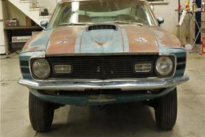 1970 Ford Mustang Mach 1 428 4 gear Q code