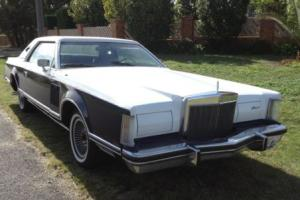 1979 Lincoln Continental Mark 5 V Ford Cadillac  Bill Blass Big Block LTD V8 Photo