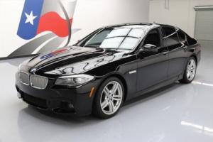 2013 BMW 5-Series 550I SEDAN M SPORT SUNROOF NAV REAR CAM