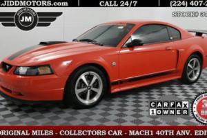 2004 Ford Mustang Premium Mach 1 ** 1 OWNER !! ** 4k ORIGINAL MILES