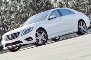 2015 Mercedes-Benz S-Class 4MATIC . DESIGNO DIAMOND WHITE .