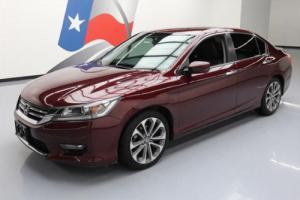 2014 Honda Accord SPORT LEATHER BLUETOOTH REAR CAM