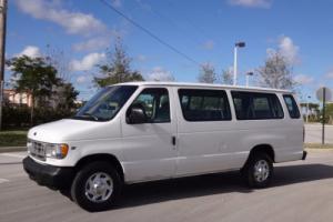 2002 Ford E-Series Van 15 Passenger Van