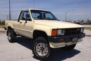 1986 Toyota SR5 Pickup Ext. Cab 4x4 SR5