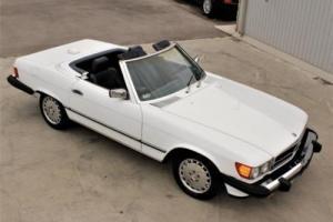 1986 Mercedes-Benz 500-Series SL Photo