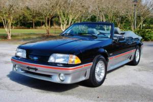 1989 Ford Mustang GT 5.0 HO Convertible! 58,625 Original Miles! Photo