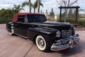 1948 Lincoln Continental Rare - Right hand drive