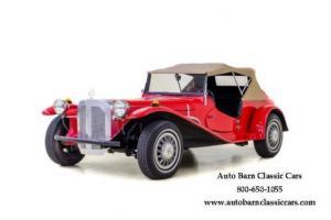 1929 Mercedes-Benz Replica Kit Car --