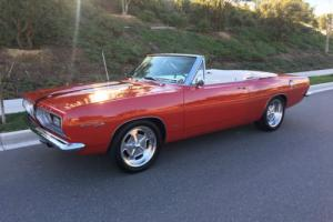 1967 Plymouth Barracuda Barracuda Commando