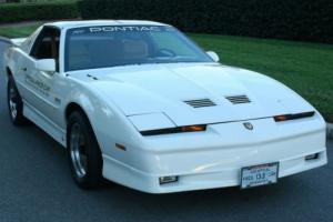 1989 Pontiac Trans Am TURBO PACE CAR - FESTIVAL CAR - TTOPS