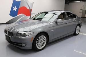 2012 BMW 5-Series 535I TURBO SUNROOF NAV HTD SEATS LEATHER
