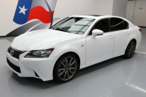 2014 Lexus GS F-SPORT SUNROOF CLIMATE SEATS NAV Photo