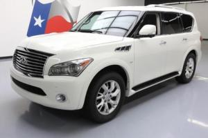 2014 Infiniti QX80 THEATER SUNROOF NAV DVD 20'S
