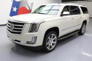 2015 Cadillac Escalade ESV LUX 4X4 NAV DVD HUD